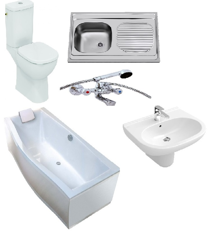 Koupelna a sanita