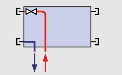 Spodní napojení levé (VKL)