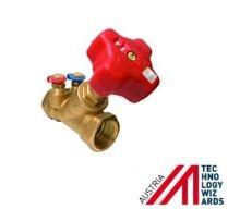 Šikmý ventil s lineární charakteristikou STRÖMAX-M DN25, 6,5 Kvs (m3/h)