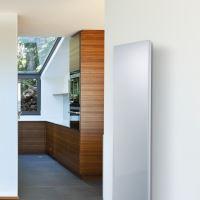 Skleněný elektrický radiátor SOLARIS 1500/630, bílý, lesklý, bez termostatu, výkon 1500 Wattů