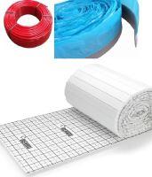 Balíček kompletního systému podlahového vytápění HERZ BPERT TAC pro plochu 90 m2