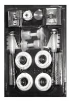 LIPOVICA SMOB montážní set pro radiátory ORION, PLANO, SOLAR