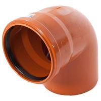 Koleno kanalizační PVC KGB 125/45°