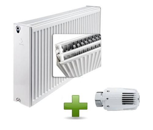 AKCE HLAVICE deskovy-radiator-airfel-klasik-33-600-400-vykon-962-w