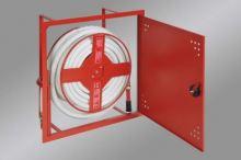 Hydrantová skříň vestavěná DN 19 návin 30 m - červená Ral 3002 - komplet