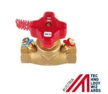 Přímý ventil s lineární charakteristikou STRÖMAX-GM DN15LF, 0,93 Kvs (m3/h)