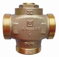 3-cestný ventil HERZ TEPLOMIX s uzavíratelným bypassem, DN32, 14 Kvs (m3/h)