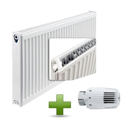 AKCE HLAVICE deskovy-radiator-airfel-klasik-22-600-400-vykon-672-w