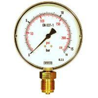 REMS manometr s jemnou stupnicí,16 bar