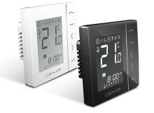 Týdenní programovatelný termostat SALUS VS10WRF bílý, bezdrátový, napájení 230V