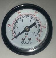 Manometr průmyslový průměr 55 mm - 10 BAR (zadní připojení)