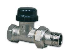 """Termostatický radiátorový ventil IVAR VD 2101 N 3/8"""", přímý"""