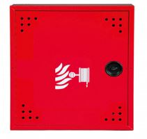 Hydrantová skříň DN 25 návin 20 m - červená Ral 3002 - komplet