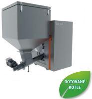Automatický kotel na tuhá paliva OPOP H835-A, výkon 10 - 35 Kw, zásobník 360 l