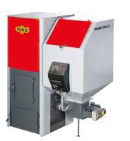 Automatický kotel ocelový ROJEK TKA BIO  80, s násypkou 300l, výkon 80 Kw