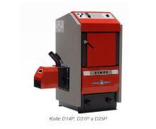 Zplyňovací kotel na pelety ocelový ATMOS D 25 P, výkon 7-24 Kw, cena bez hořáku